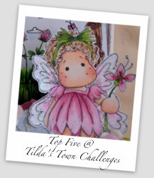 I was selected as TOP 5 at Tilda's Town!! Yay! :))